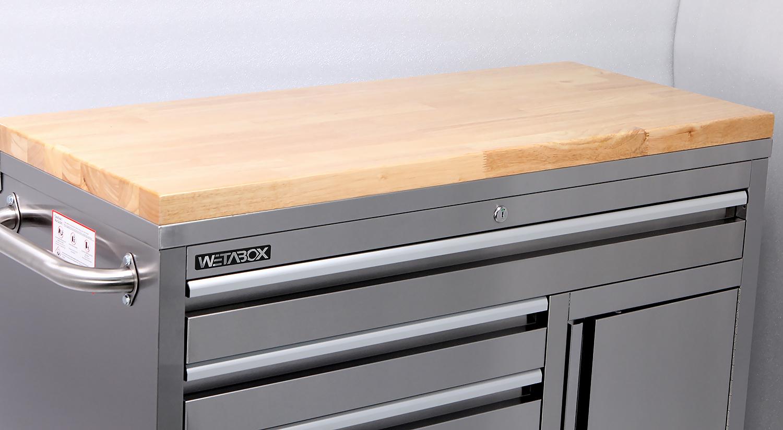 Workstation WE 4205B Mit Hartholzplatte